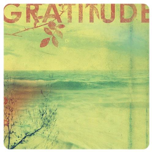 gratitude with border