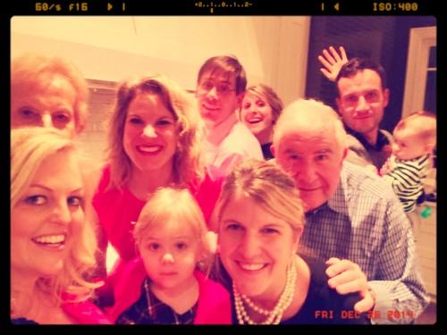 Christmas Selfie 2014